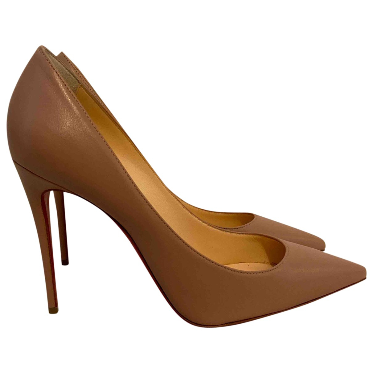 Christian Louboutin So Kate  Leather Heels for Women 36 EU