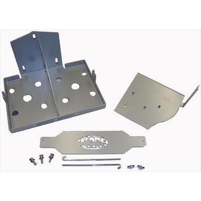 Mountain Off Road Enterprises Dual Battery Tray (Black) - JKDBT0709