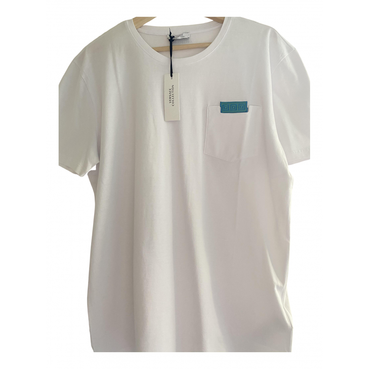 Versace \N White Cotton T-shirts for Men L International