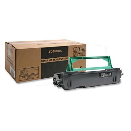 Toshiba TK-18 21204099 Original Black Toner Cartridge