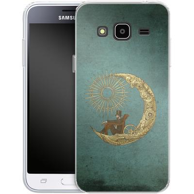 Samsung Galaxy J3 (2016) Silikon Handyhuelle - Moon Travel von Eric Fan