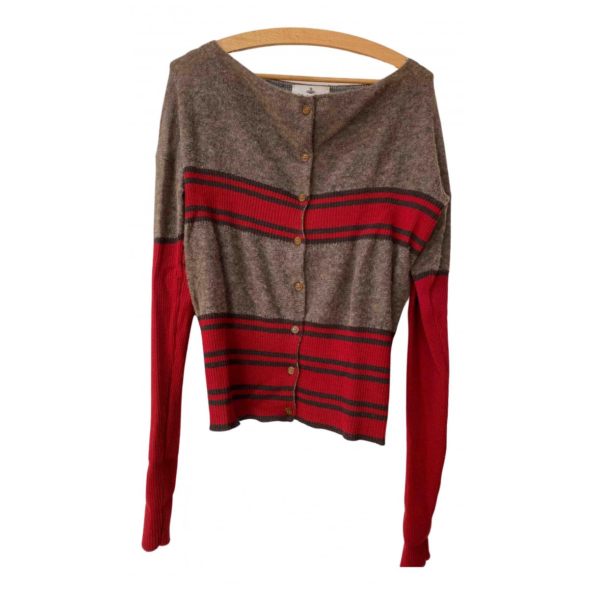 Vivienne Westwood - Pull   pour femme en laine - multicolore