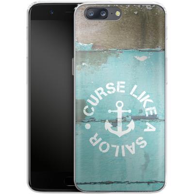 OnePlus 5 Silikon Handyhuelle - Curse Like A Sailor von Statements