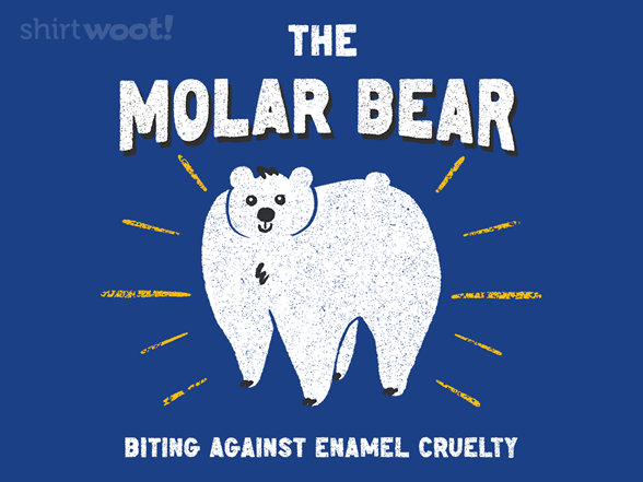 The Molar Bear T Shirt