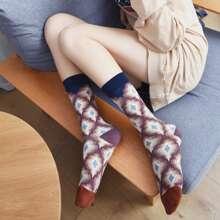 Geometric Pattern Socks