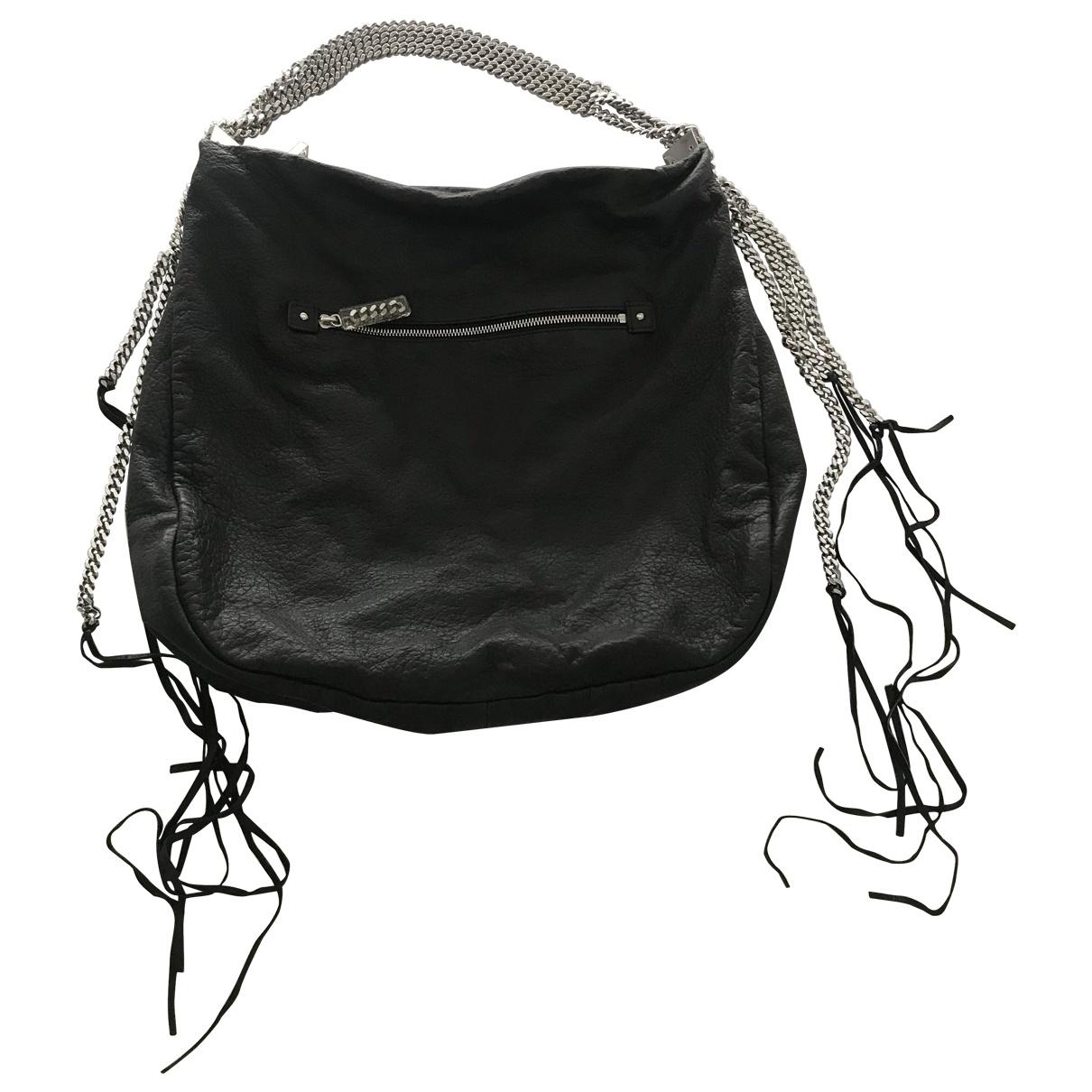 Christian Louboutin \N Black Leather handbag for Women \N