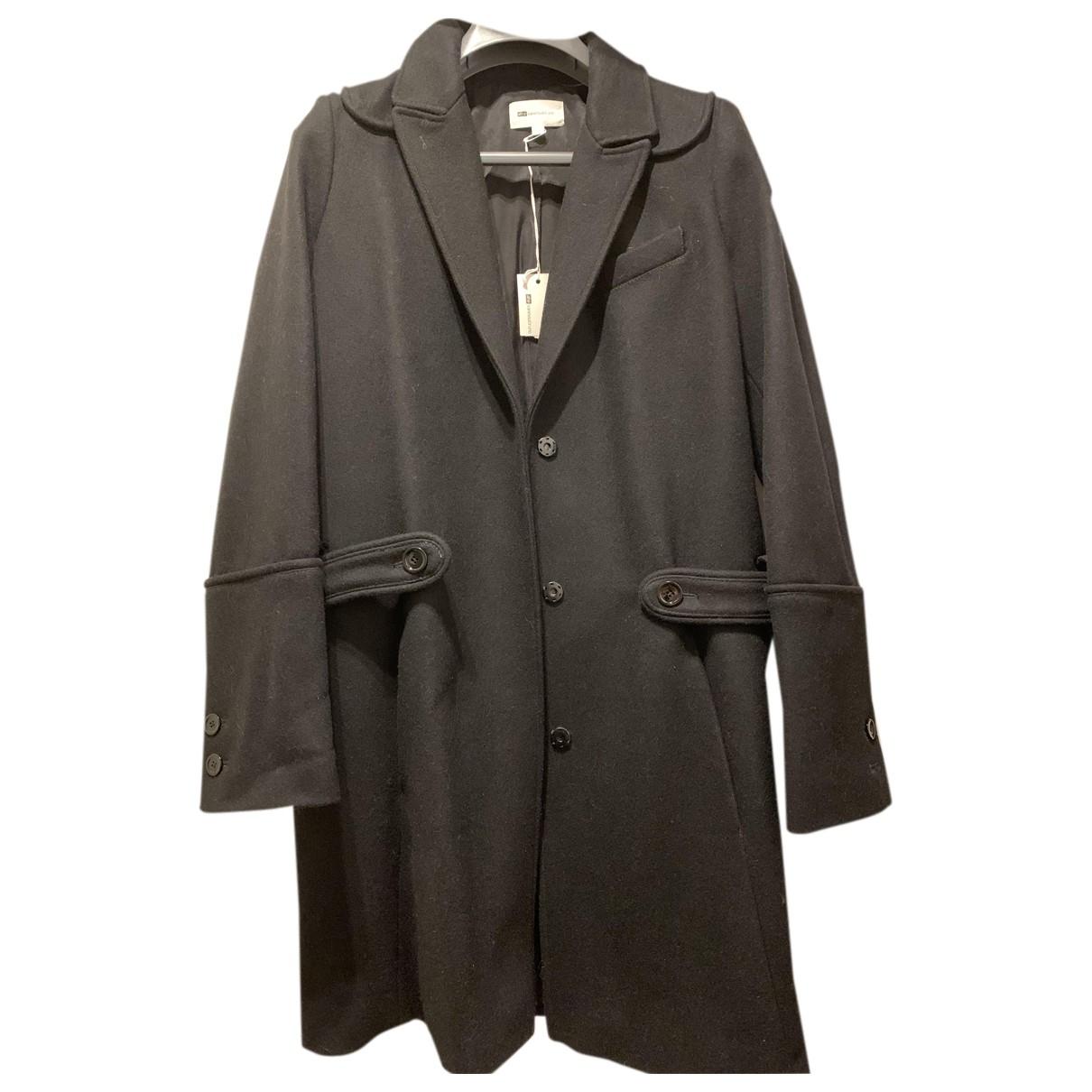Vanessa Bruno Athe N Black Wool coat for Women 36 FR