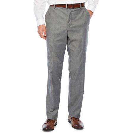 JF J.Ferrar Ultra Comfort Stretch Slim Fit Suit Pants, 38 30, Gray