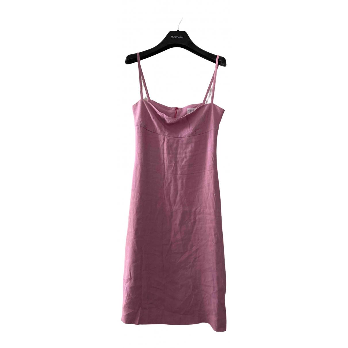 Agnes B. - Robe   pour femme en coton - rose