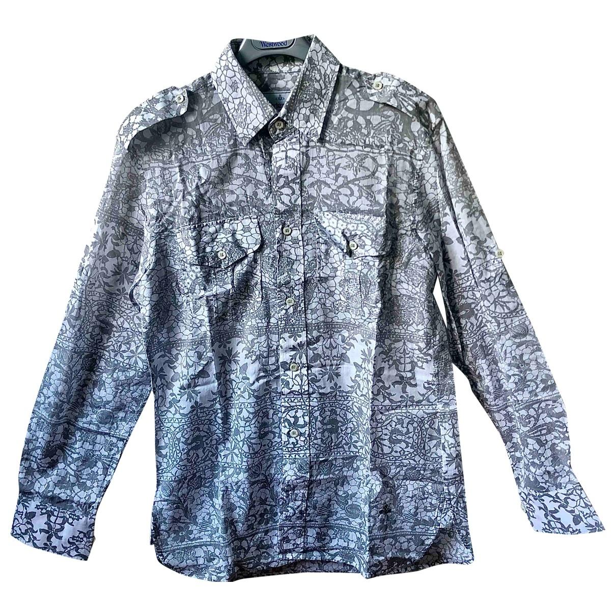 Vivienne Westwood \N White Cotton Shirts for Men M International