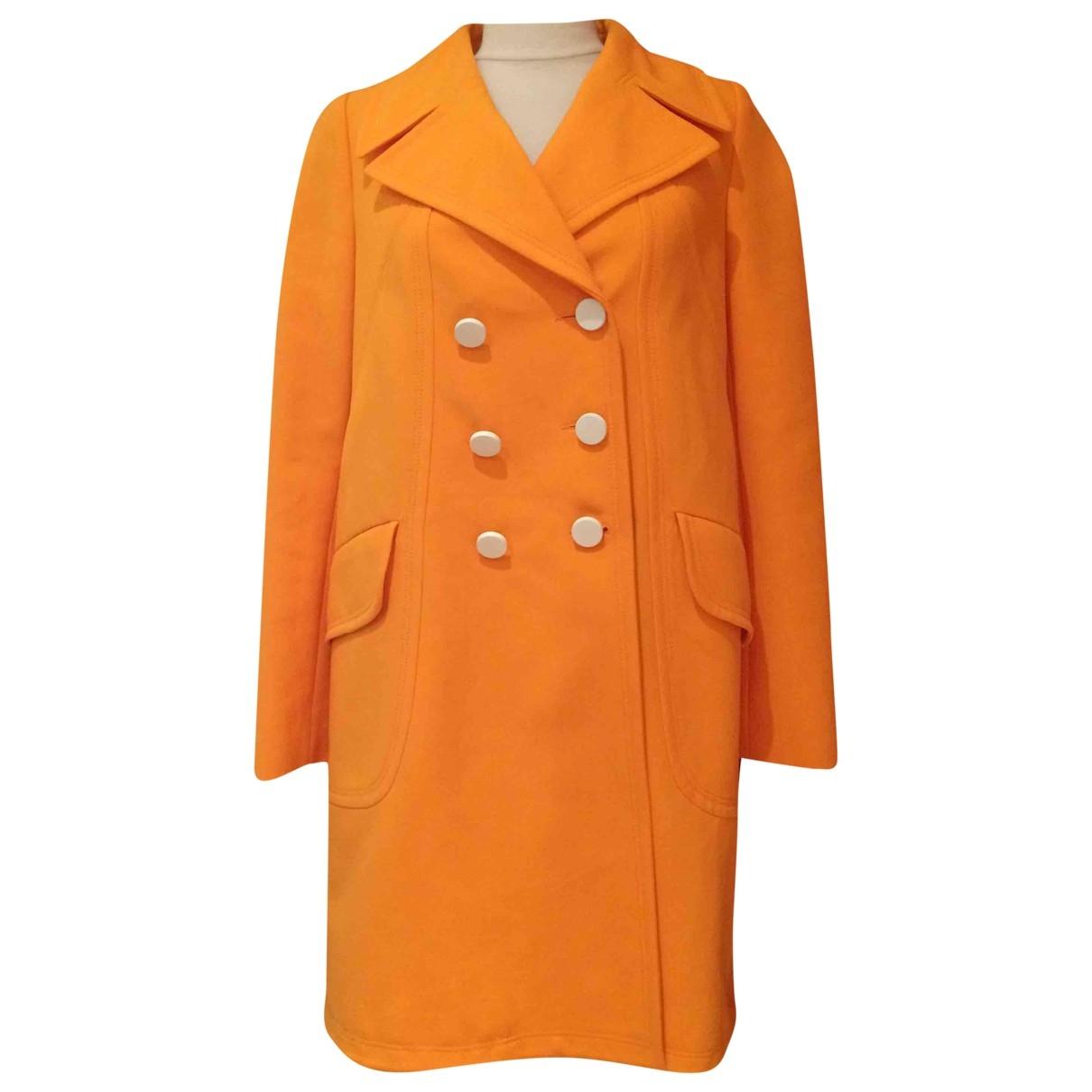 Tara Jarmon - Trench   pour femme en coton - orange