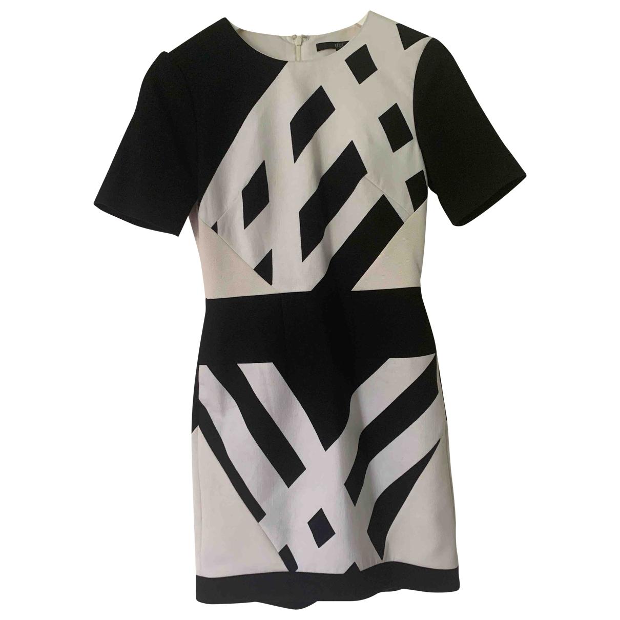 Tibi \N Kleid in  Schwarz Baumwolle