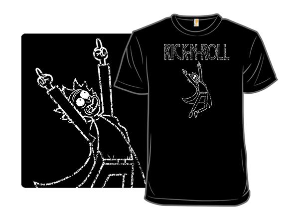 Rick N' Roll T Shirt