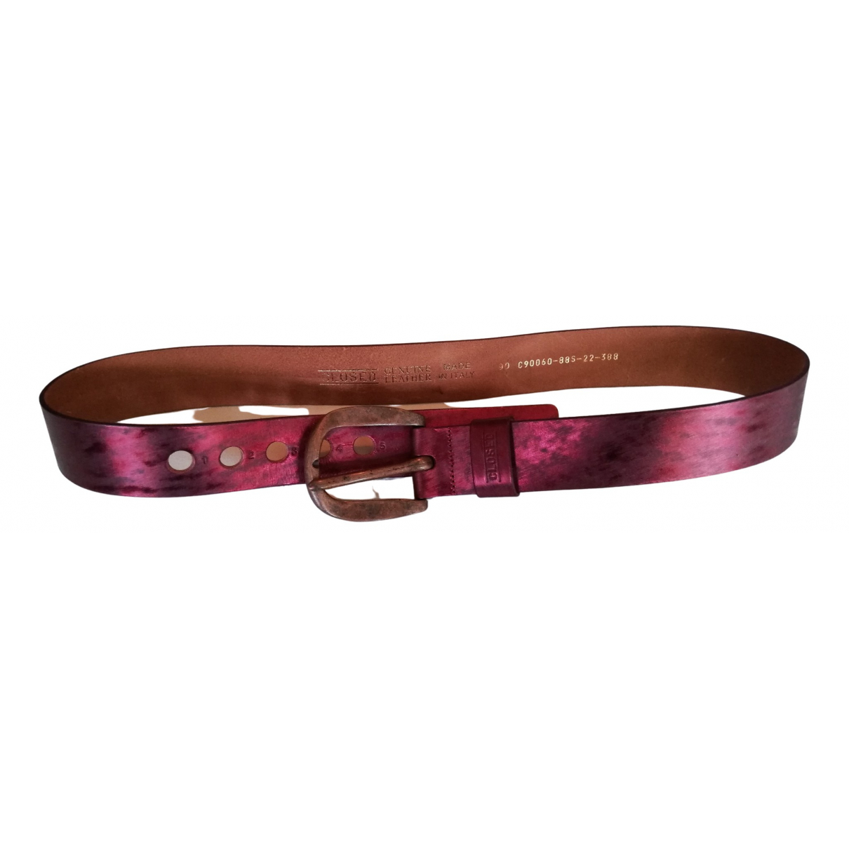 Cinturon de Cuero Closed