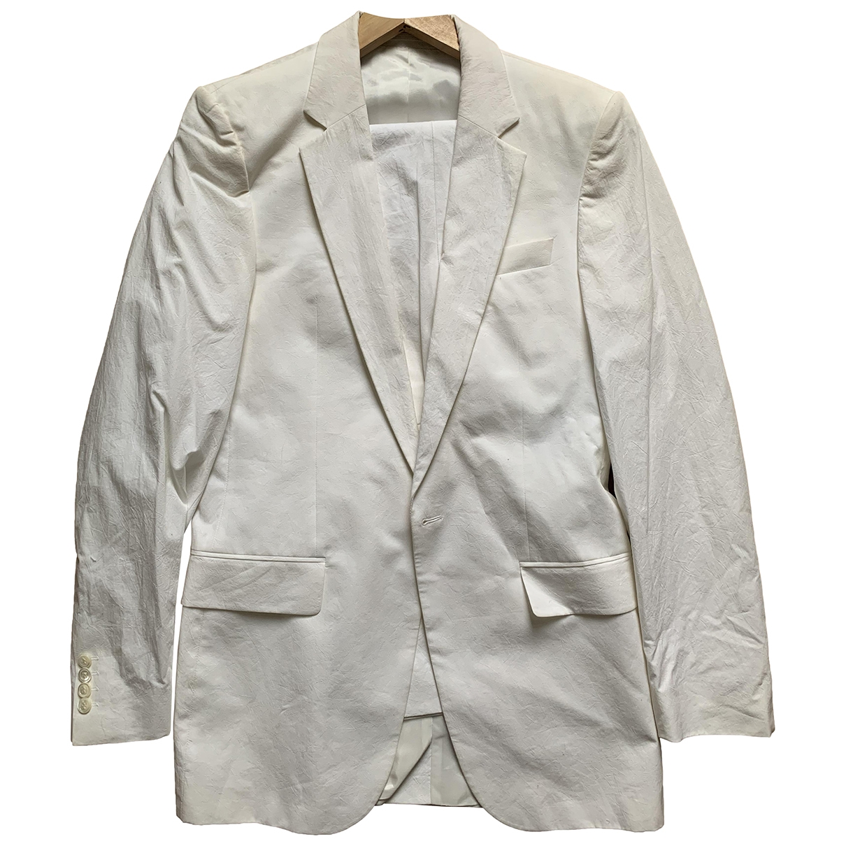 Boss \N White Cotton Suits for Men S International