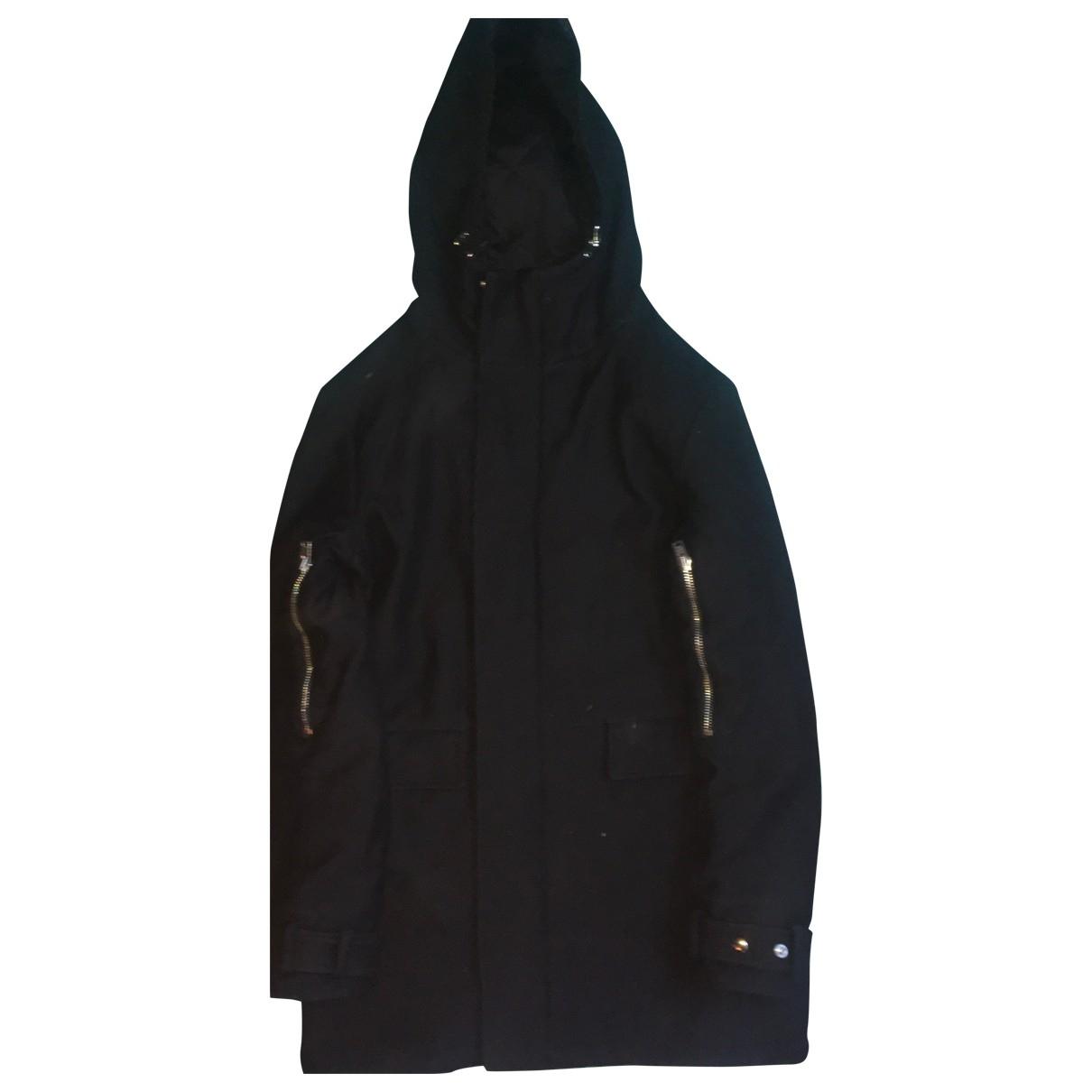 Iro \N Black Cotton coat  for Men 46 FR