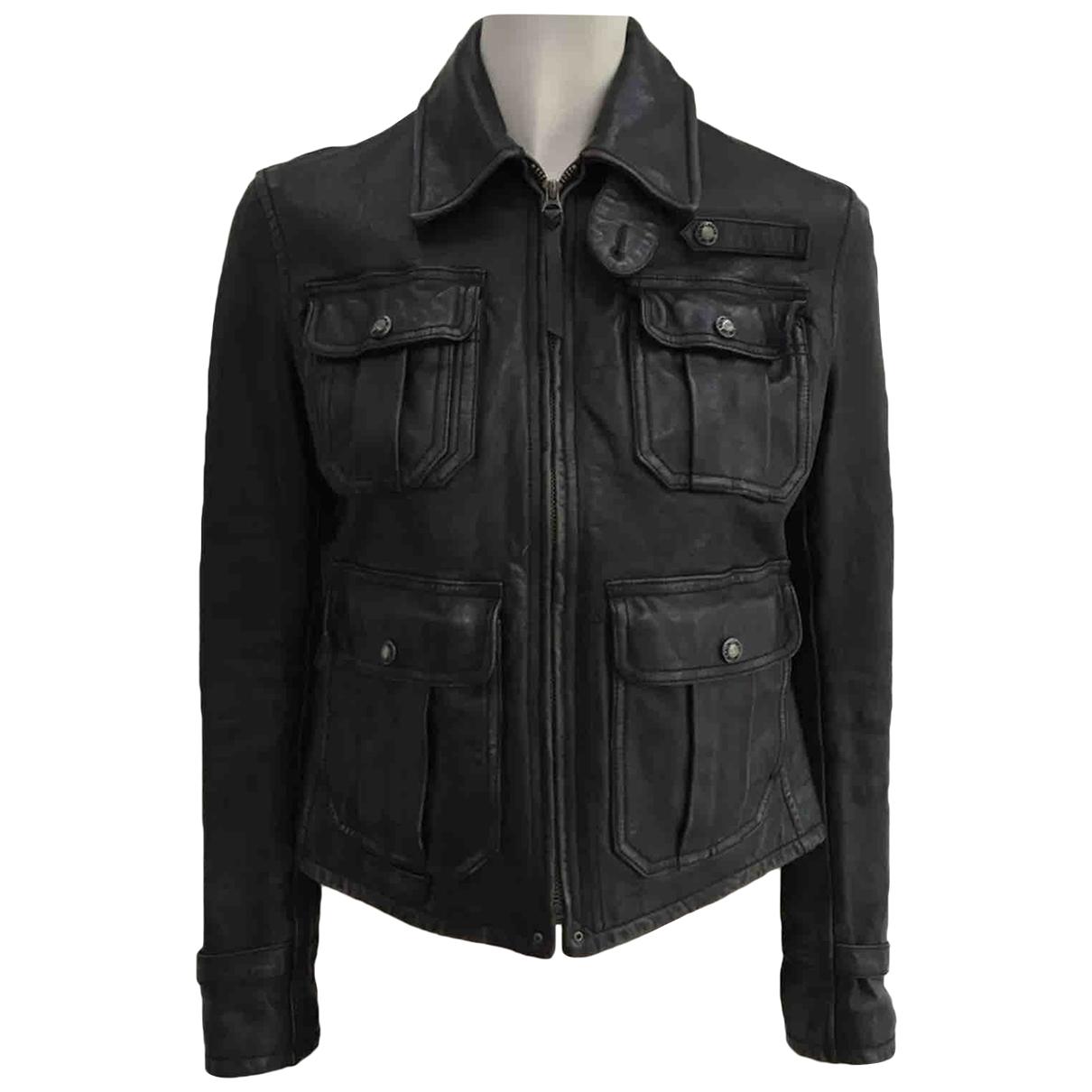 Ralph Lauren \N Brown Leather jacket for Women XS International