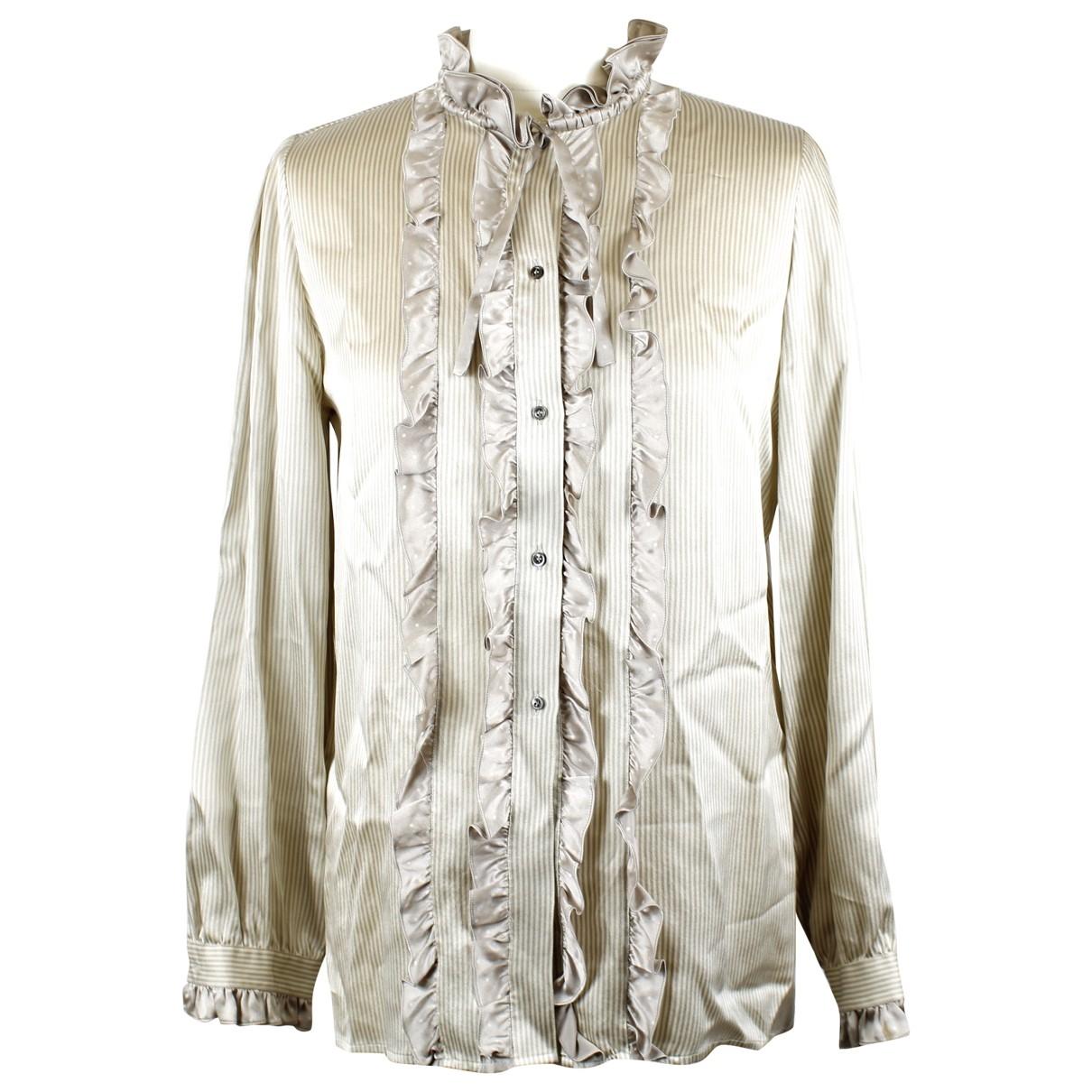 Dior \N Silk  top for Women 46 IT
