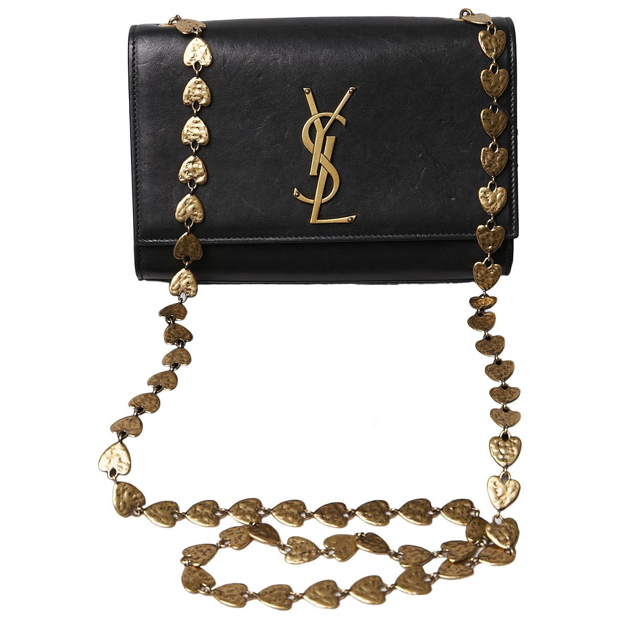 Pochette Kate monogramme de Cuero Saint Laurent