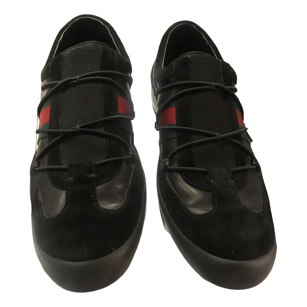 Gucci \N Black Leather Lace ups for Women 39 EU