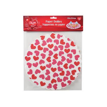 Paper Doilies For Saint Valentine 10
