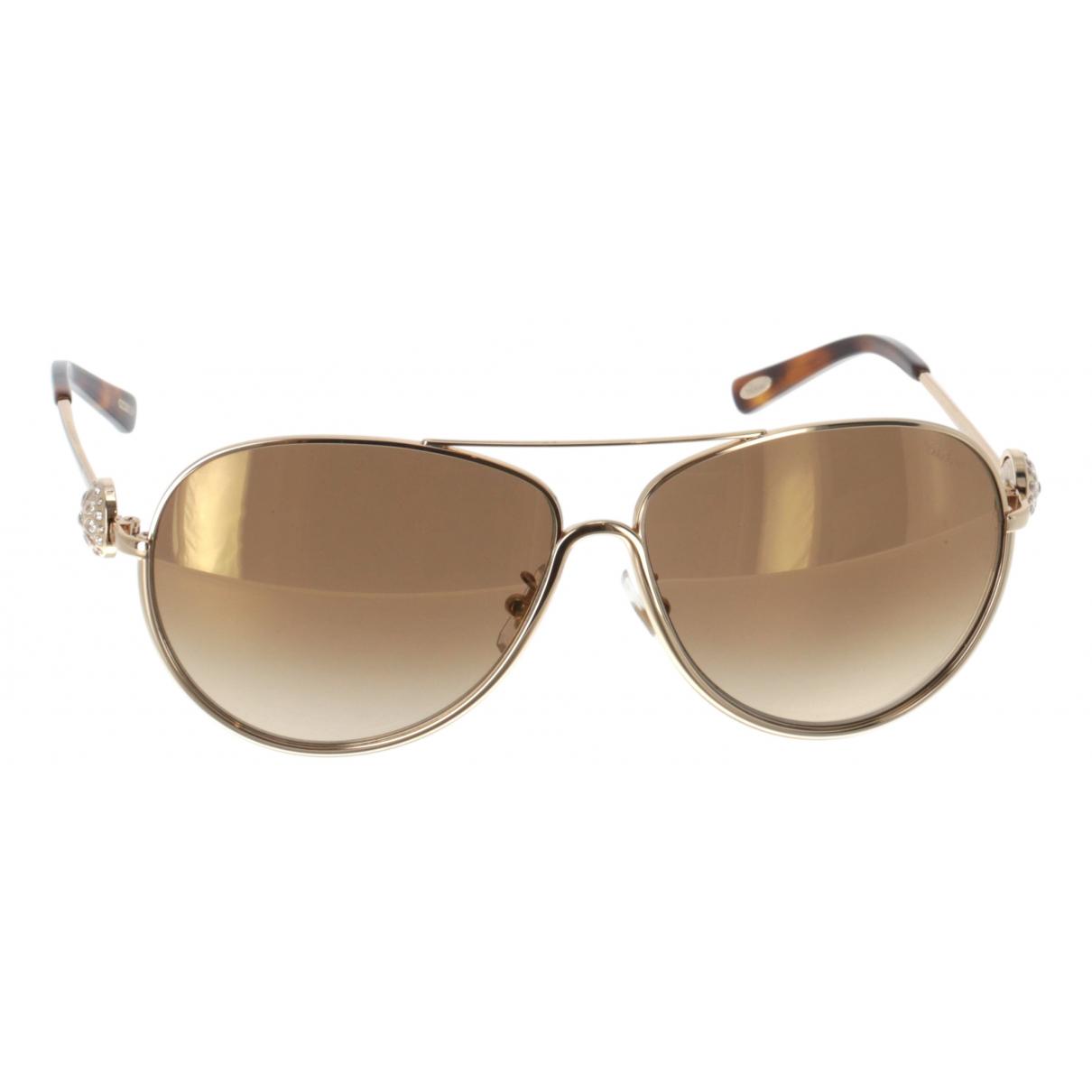Chopard N Gold Metal Sunglasses for Women N