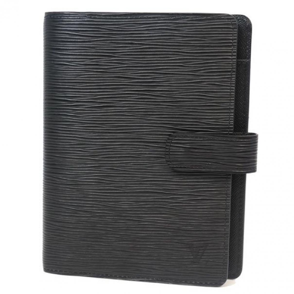 Louis Vuitton - Linge de maison   pour lifestyle en cuir - noir