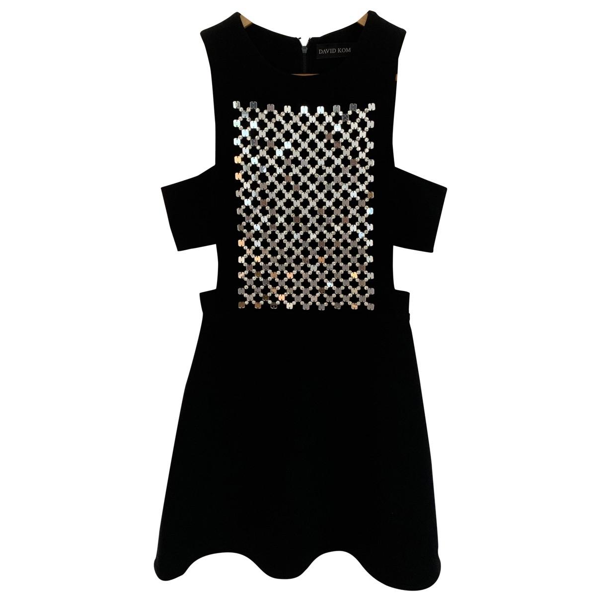 Mini vestido David Koma