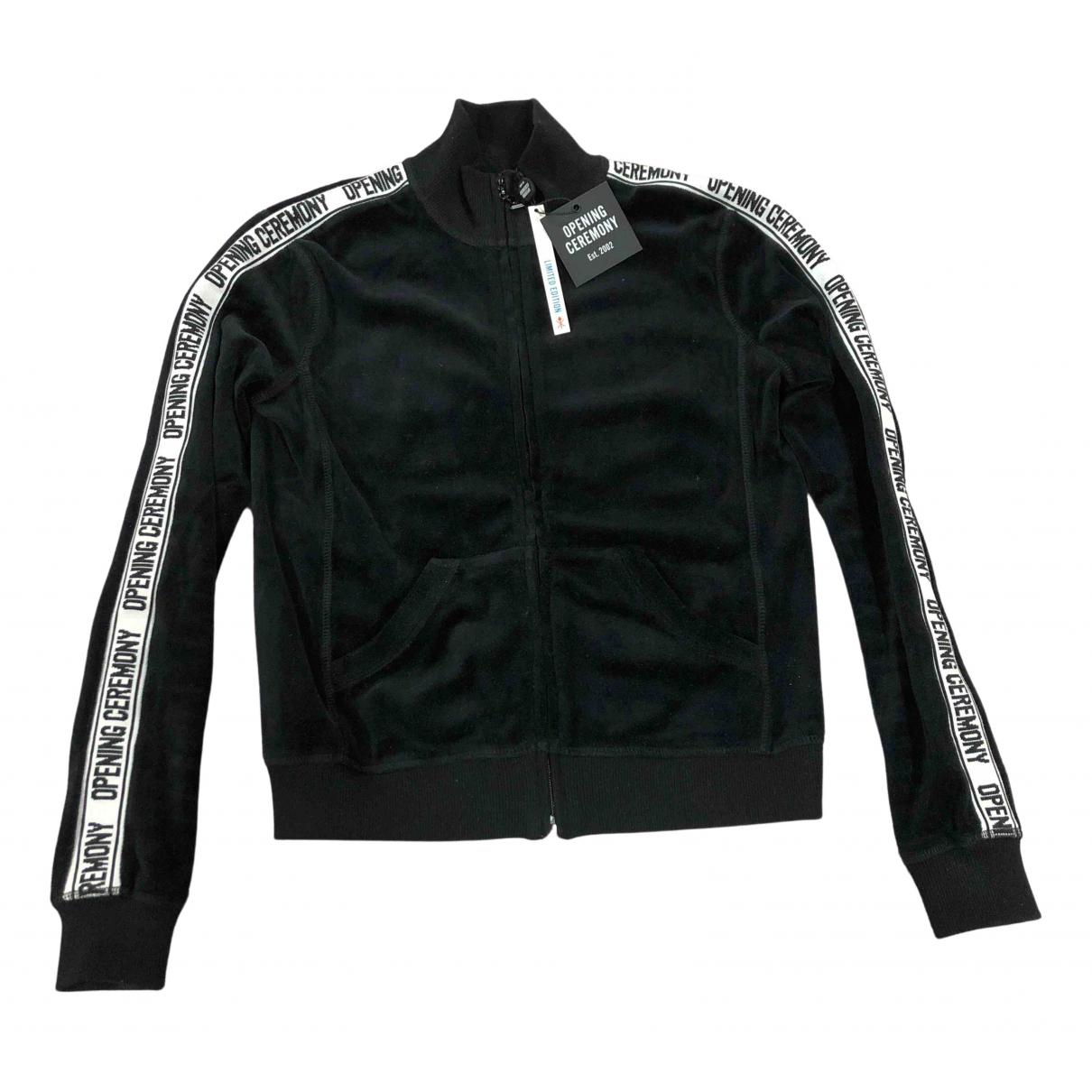 Opening Ceremony \N Black Velvet jacket for Women XS International