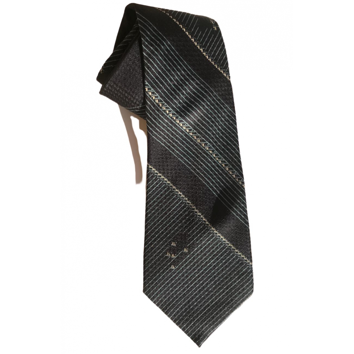 Pierre Cardin \N Krawatten in  Blau Seide