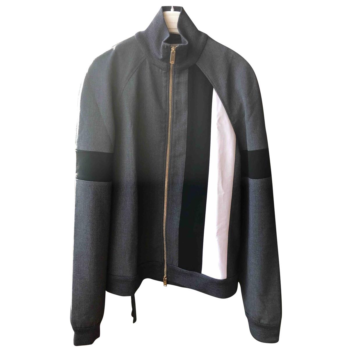 Stella Mccartney \N Grey Wool jacket for Women 40 IT