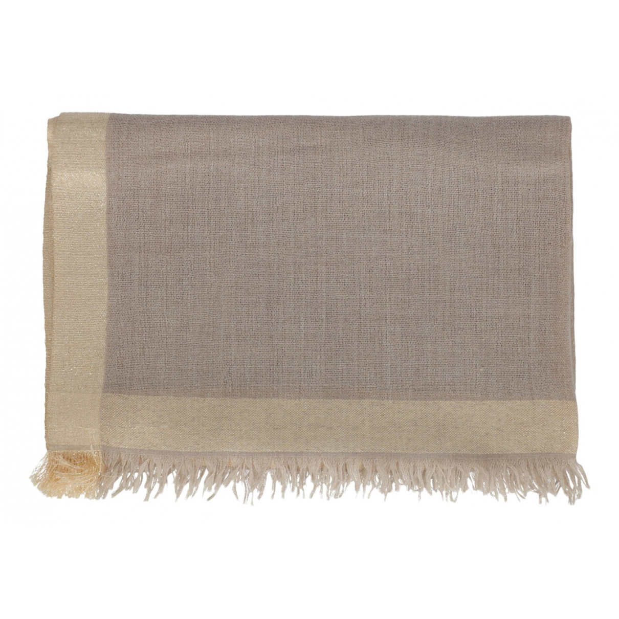Etro N Beige Wool scarf for Women N
