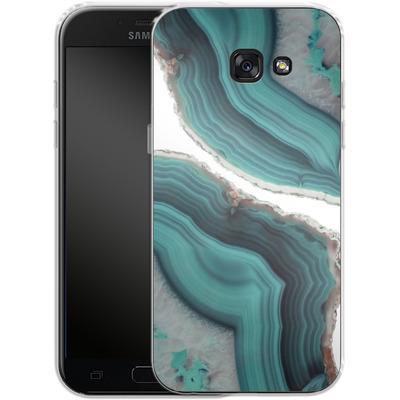 Samsung Galaxy A5 (2017) Silikon Handyhuelle - Sea Agate von Emanuela Carratoni