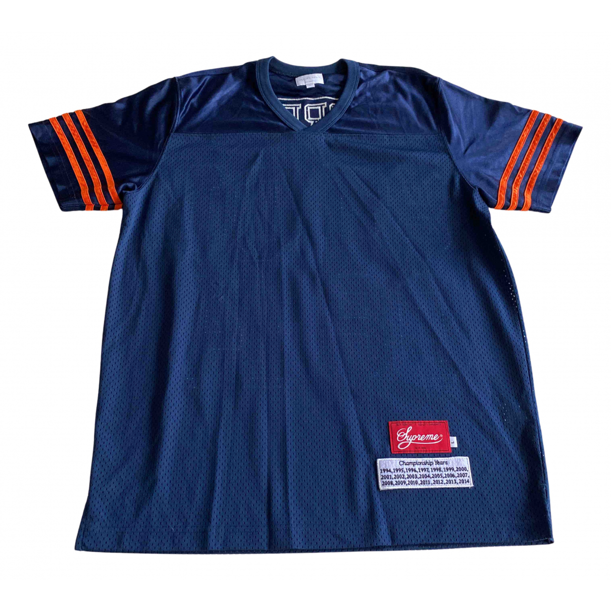 Supreme - Tee shirts   pour homme - bleu