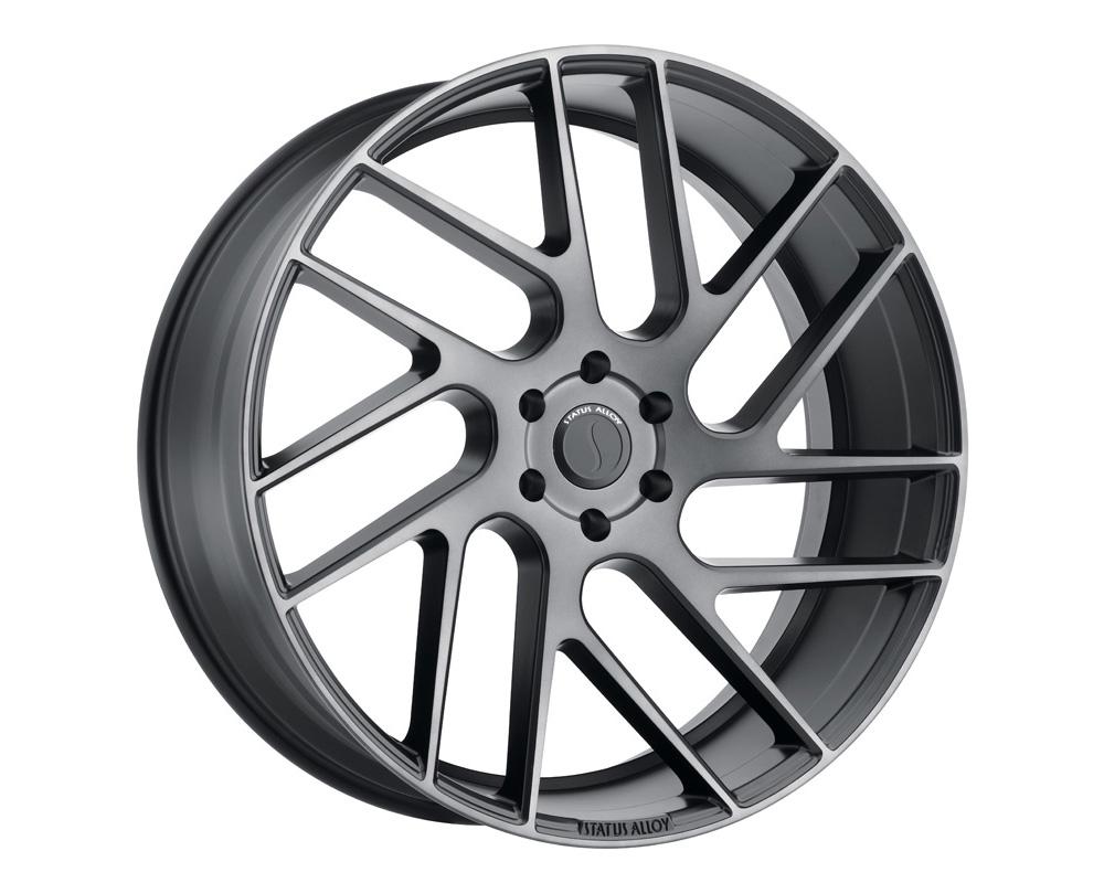 Status Juggernaut Wheel 24x9.5 5x120 30mm Carbon Graphite