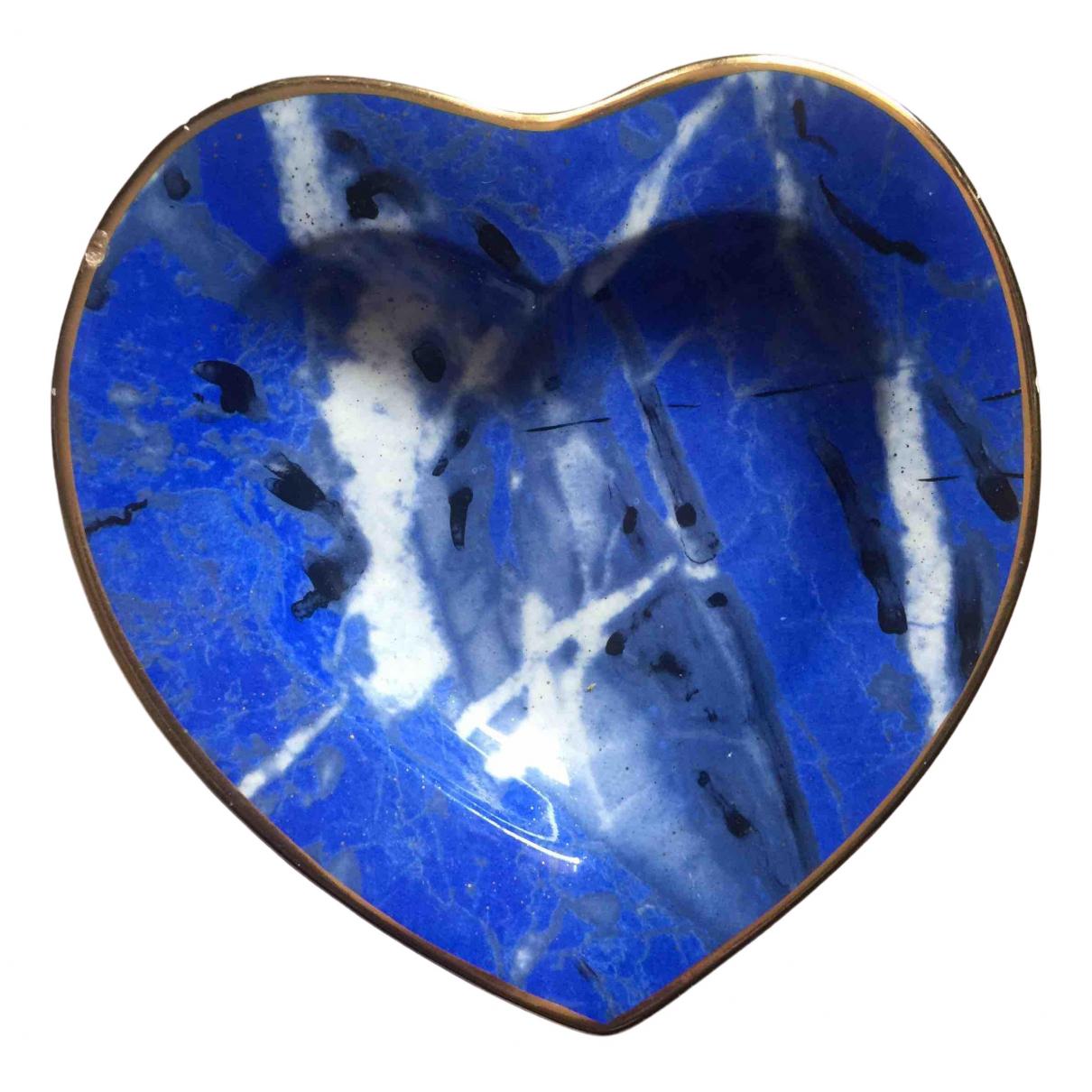 Dior \N Accessoires und Dekoration in  Blau Porzellan