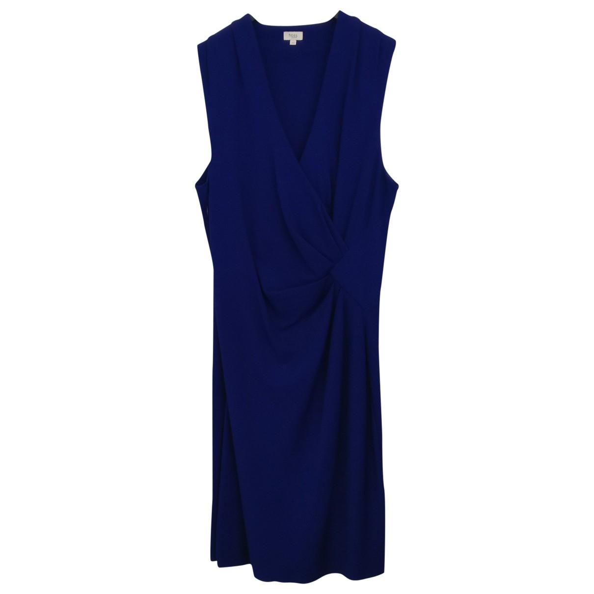 Hoss Intropia \N Kleid in  Lila Baumwolle
