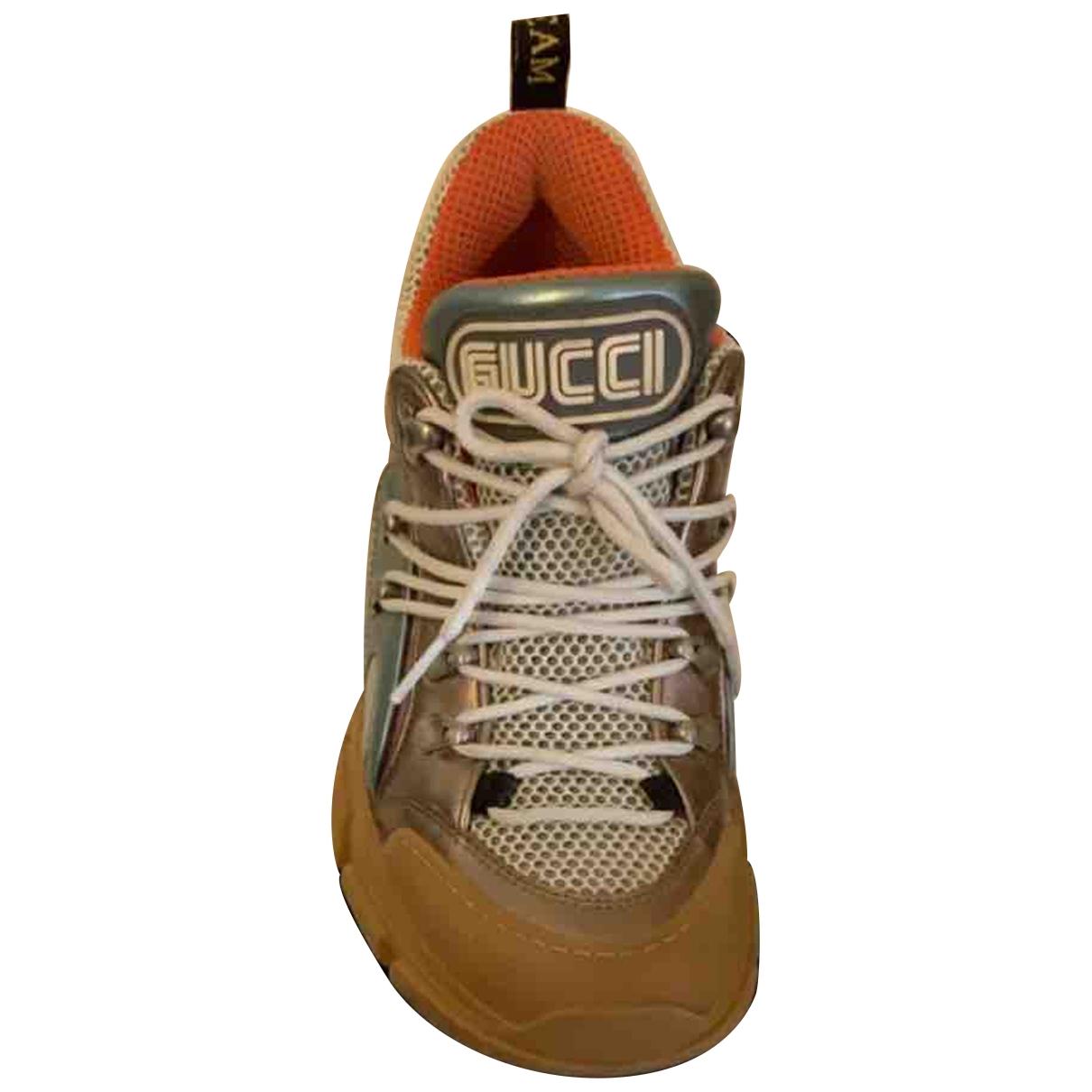 Deportivas Flashtrek de Cuero Gucci