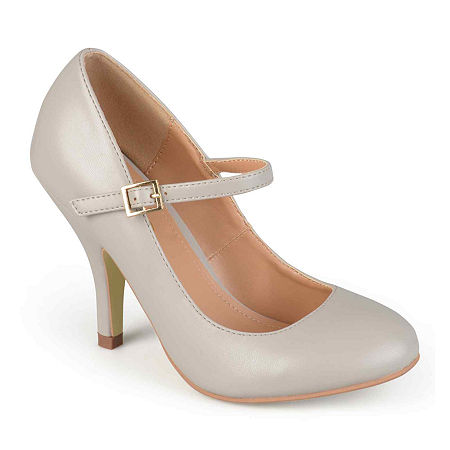 Journee Collection Womens Lezly Pumps, 10 Medium, Gray