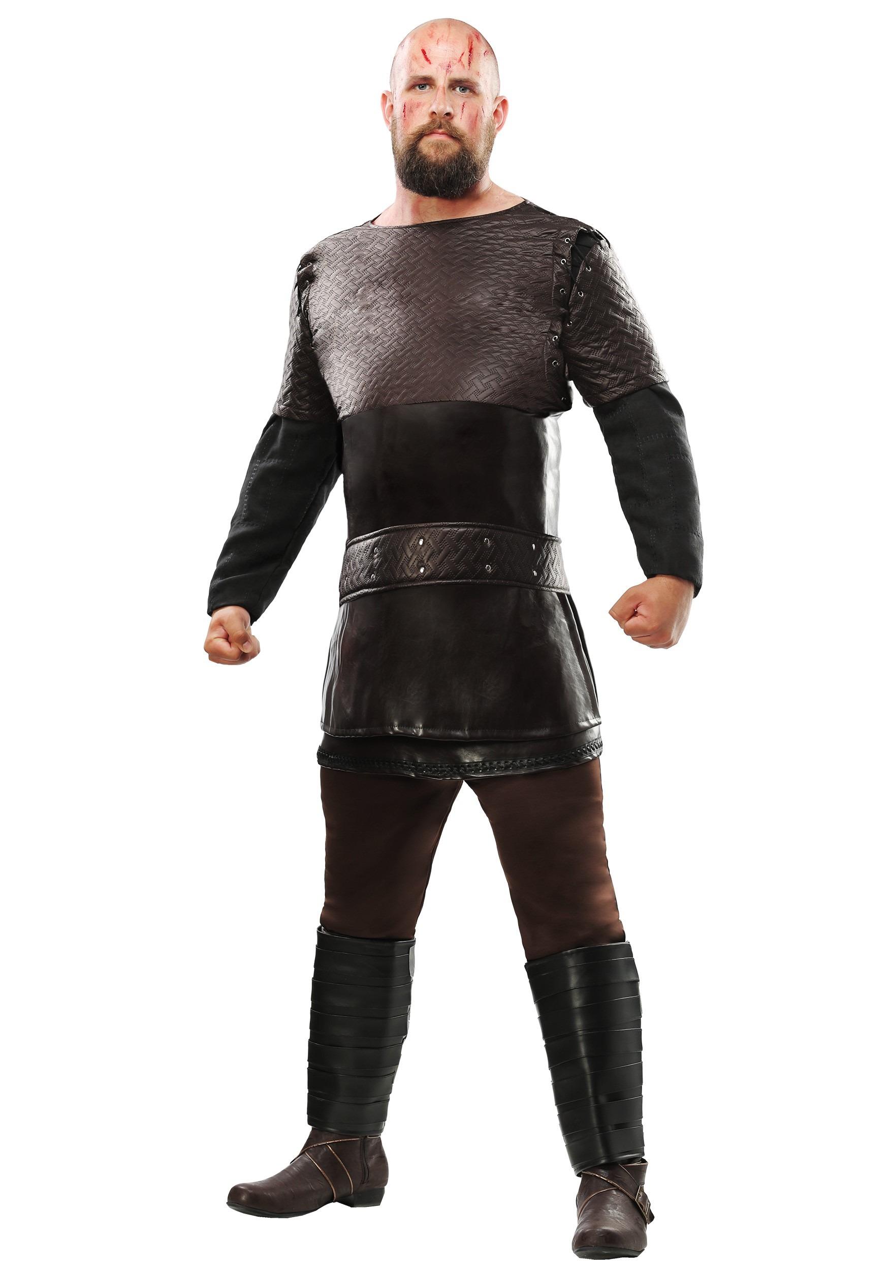 Vikings Ragnar Lothbrok Plus Size Costume for Men   Exclusive