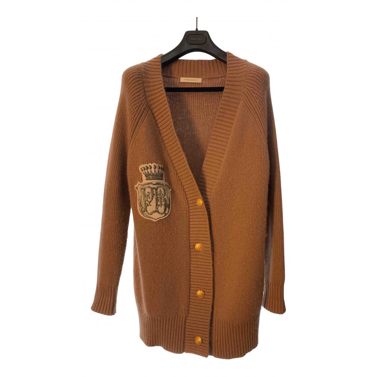 Pierre Balmain \N Brown Knitwear for Women 36 FR