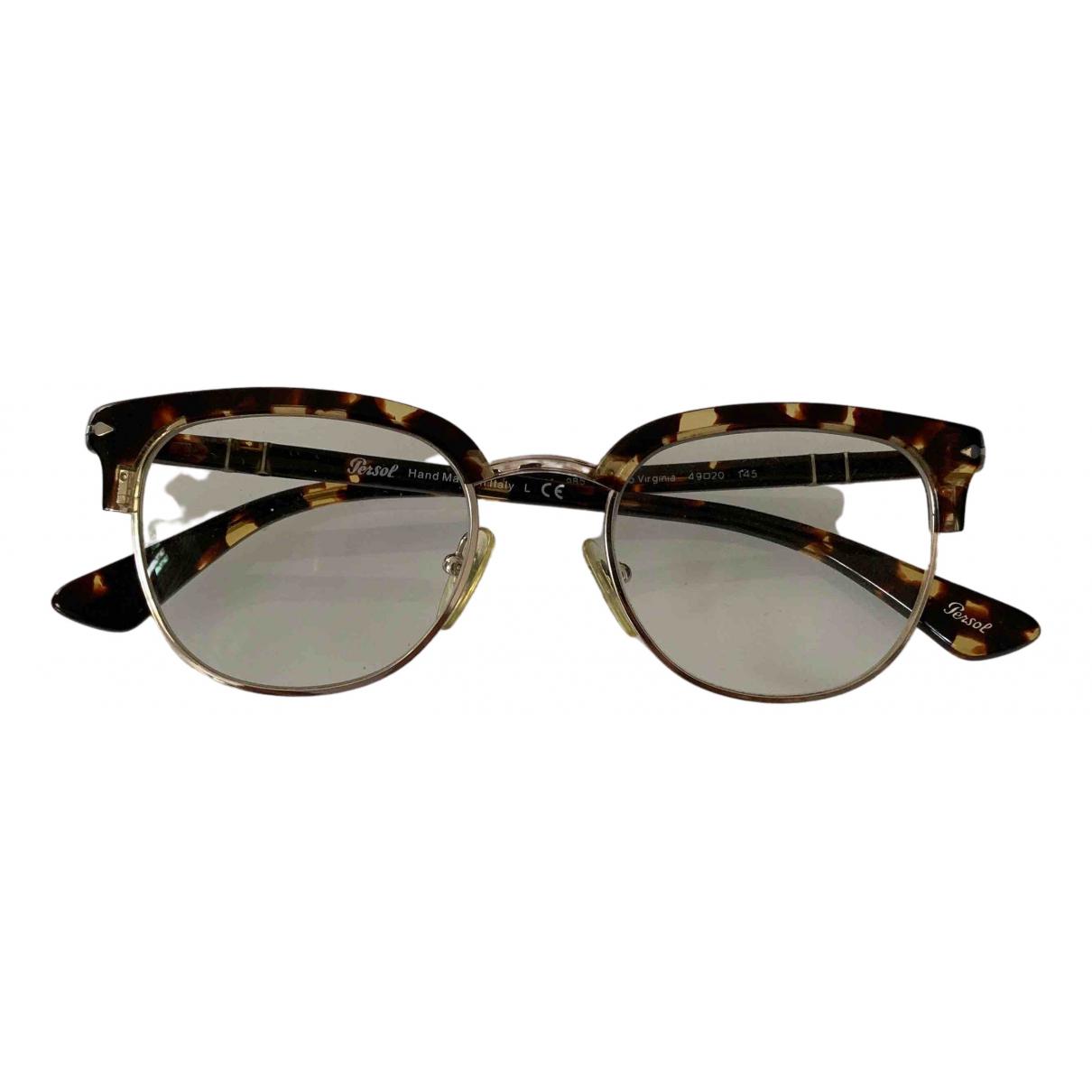 Persol \N Brown Metal Sunglasses for Women \N