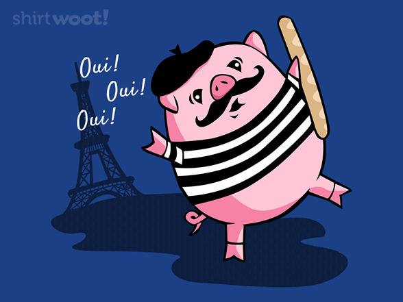 Ce Petiit Cochon T Shirt