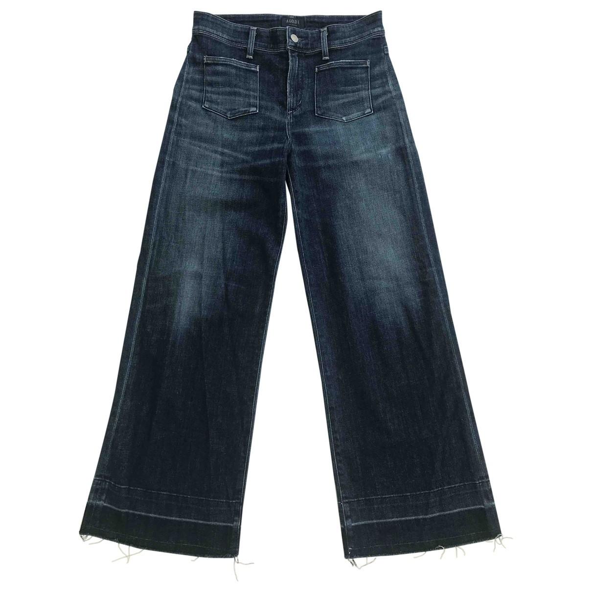 Agolde \N Blue Denim - Jeans Jeans for Women 26 US