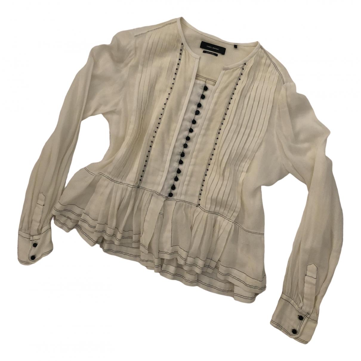 Isabel Marant \N Beige Cotton  top for Women 38 FR