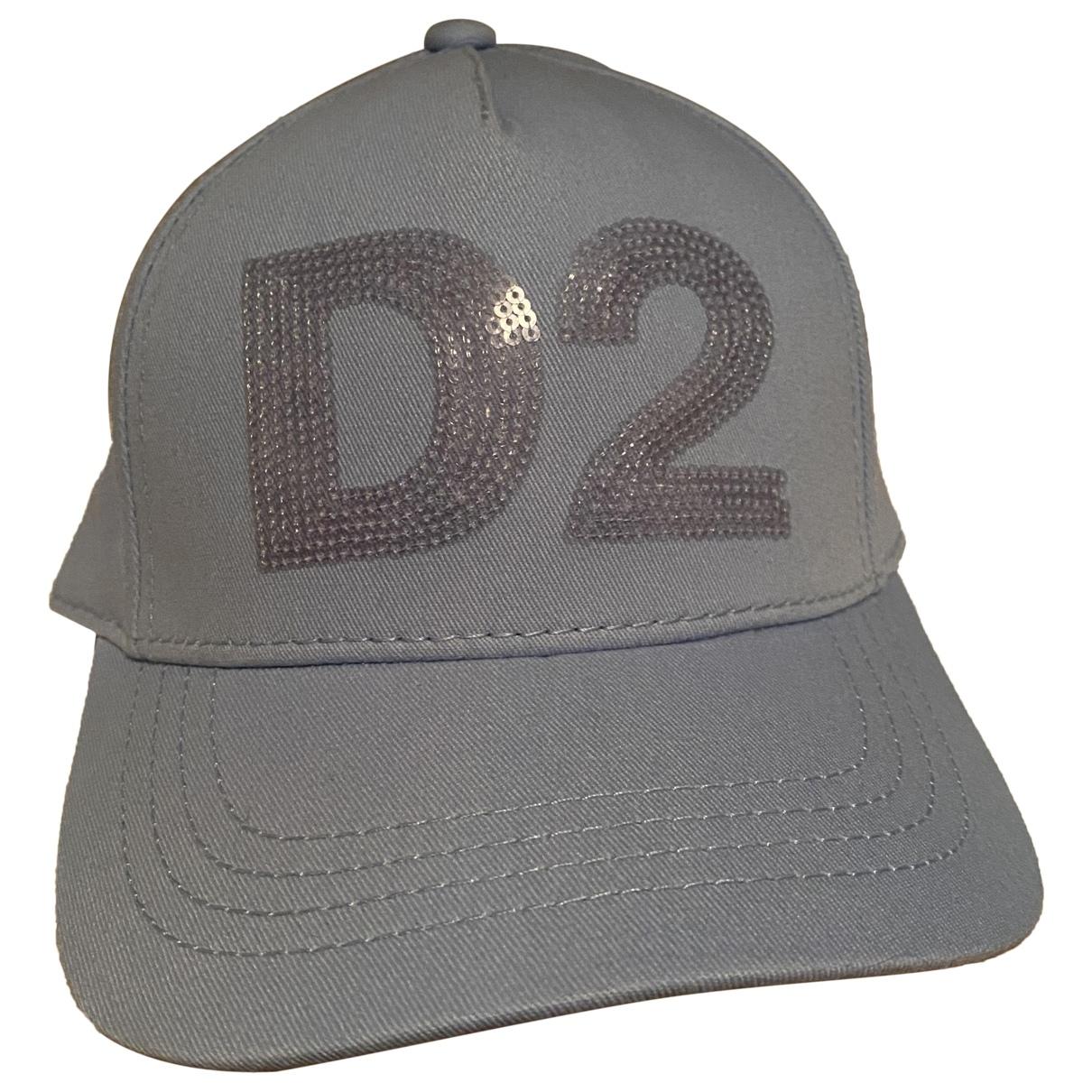 Dsquared2 \N Blue Cotton hat & Gloves for Kids \N
