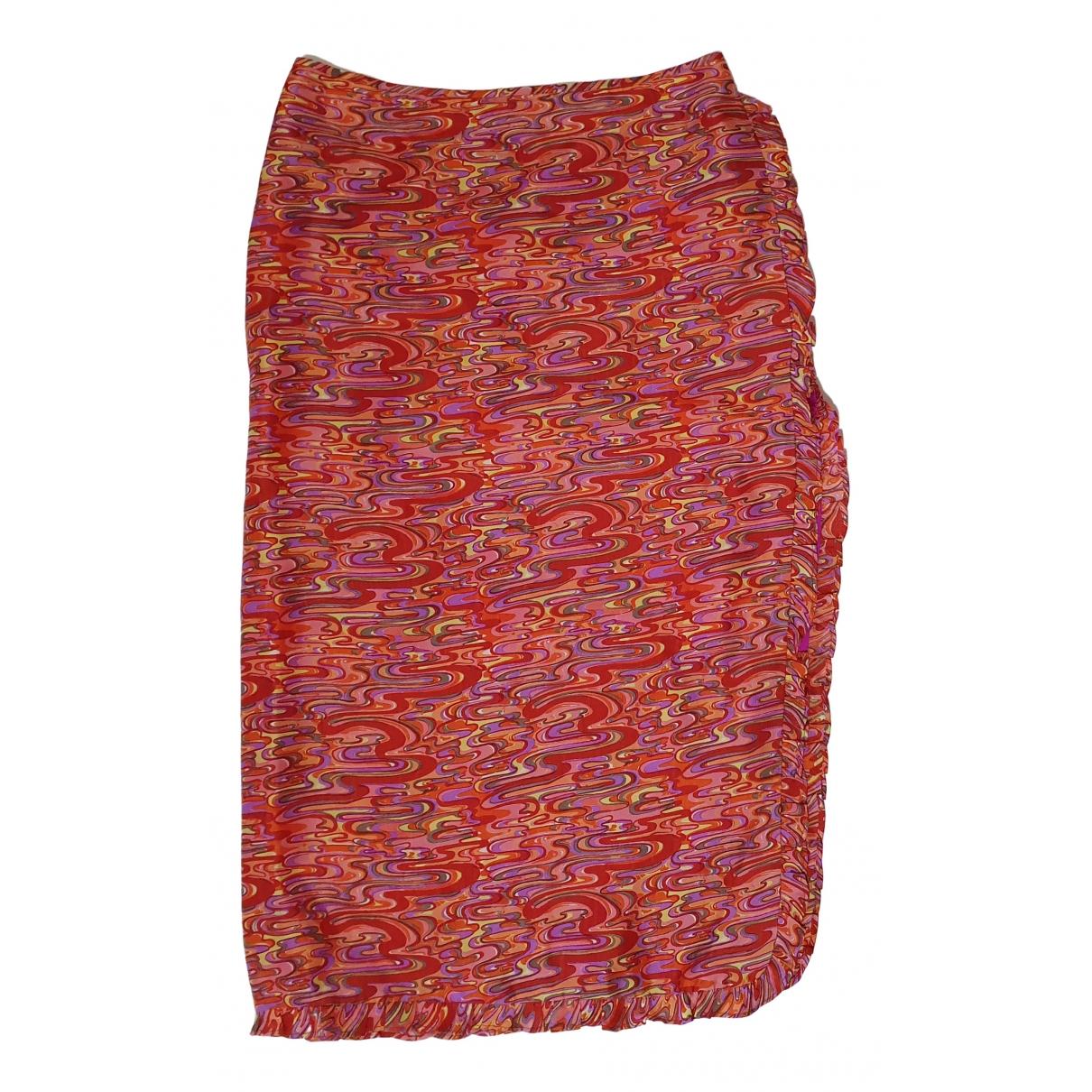 Nanette Lepore - Jupe   pour femme en soie - multicolore
