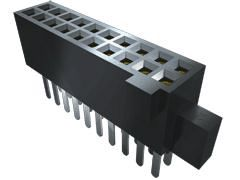 Samtec , SFM 1.27mm Pitch 60 Way 2 Row Vertical PCB Socket, Surface Mount, Solder Termination (13)