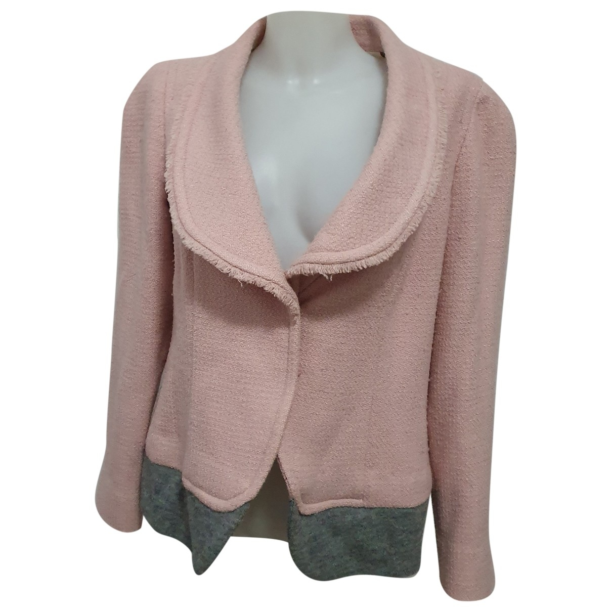 Max Mara \N Pink Wool jacket for Women 12 US