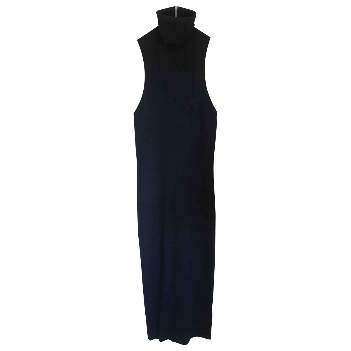 Gucci \N Kleid in  Marine Wolle
